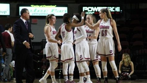 UMass women's basketball handles Duquesne at home