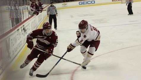 UMass hockey returns home Tuesday to try and end seven-game losing streak
