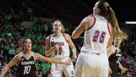 UMass women's basketball suffers disappointing loss to St. Bonaventure at Mullins Center Thursday