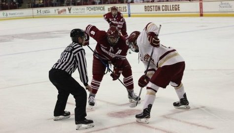 High-powered Eagles soar past UMass