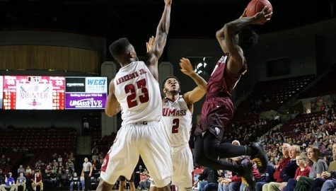 UMass men's basketball falls to Fordham behind strong defensive effort by the Rams