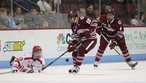 UMass hockey hits the road this weekend with games against Northeastern, No. 9 UMass Lowell