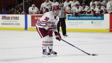 UMass hockey forward Brett Boeing still catching on in Amherst