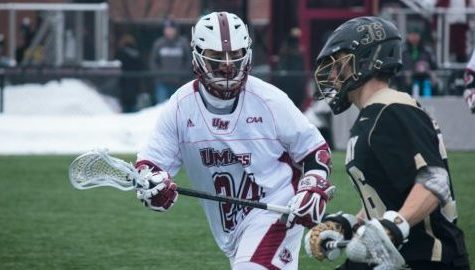 UMass men's lacrosse's late rally falls short against Harvard