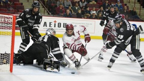 Providence power play haunts UMass hockey in 6-2 loss