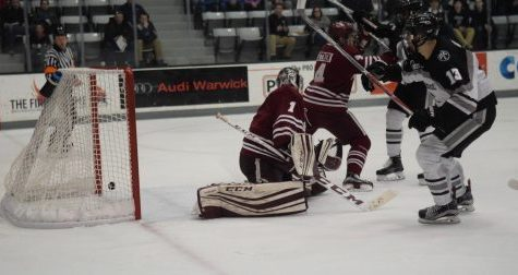 Overtime goal hands UMass hockey its 15th straight loss in regular season finale
