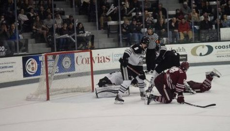 UMass hockey competes hard, falls to No. 10 Providence College in overtime