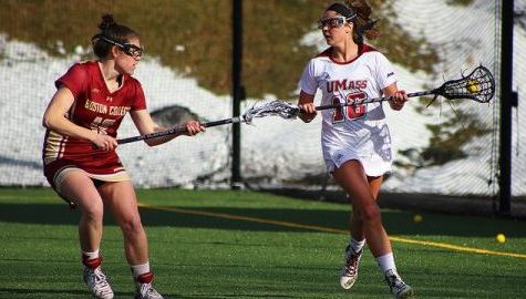 UMass women's lacrosse splits weekend trip in Florida