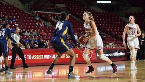 Maggie Mulligan looks to secure 20th double-double in final regular season game for UMass women's basketball