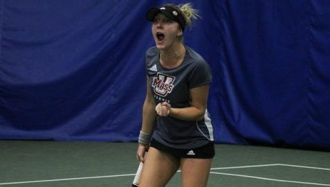 UMass tennis splits weekend matches in Washington D.C.