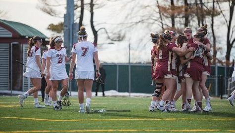 No. 17 Boston College hands No. 16 UMass women's lacrosse first home loss since 2014