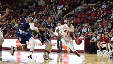 UMass men's basketball never leads against URI en route to fifth straight loss