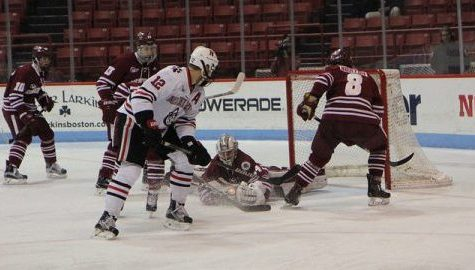 Northeastern's early goals, breakaway chances prove insurmountable for UMass