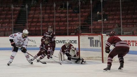 UMass hockey plays final two games of the season against No. 10 Providence