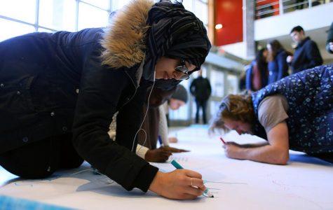 SLIDESHOW: Student Strike for Sanctuary