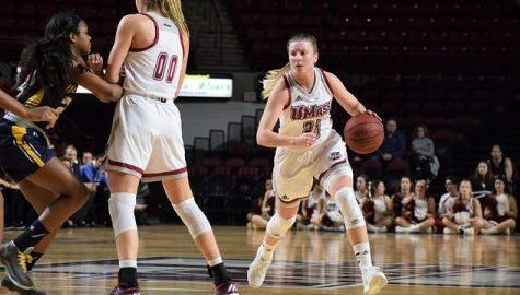 UMass women's basketball's late comeback falls short in loss to La Salle Sunday