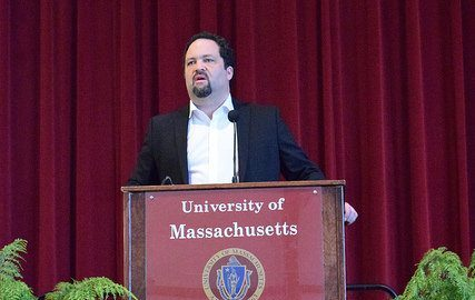 Former NAACP President Benjamin Jealous gives talk at UMass