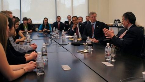 Gov. Baker announces grant to fund life science education