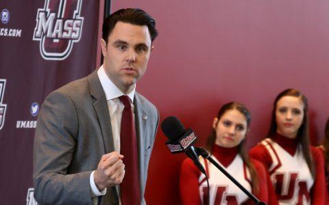 UMass Athletic Director Ryan Bamford breaks down finances in decision to fire Derek Kellogg