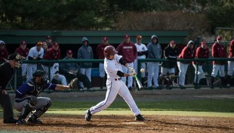 Holy Cross 10-run eighth inning sinks UMass baseball