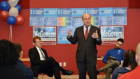 Representatives Jim McGovern, Keith Ellison to speak in Bowker Auditorium Saturday