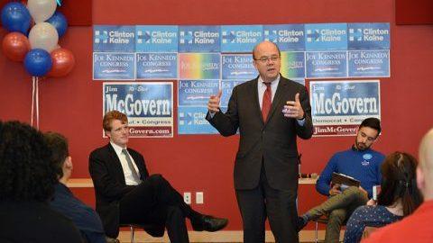 Representatives Jim McGovern, Keith Ellison to speak in Bowker Auditorium Saturday