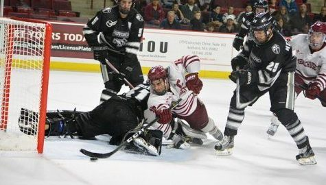 UMass hockey opens Hockey East tournament against No. 10 Providence