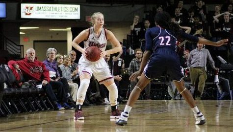 UMass women's basketball heading in the right direction with season in rear-view mirror