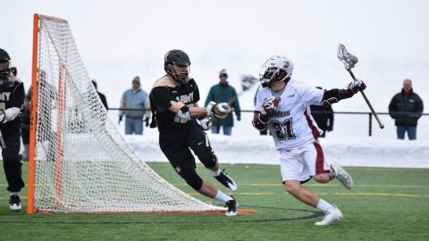UMass men's lacrosse comes back in fourth quarter to beat UMass Lowell