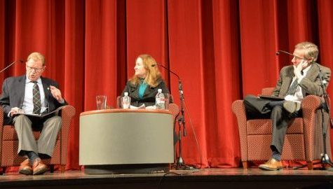 'Do You Have The Right To Do Drugs?' debate held in Bowker Auditorium