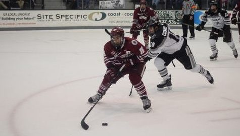 UMass hockey suffers another slow start in 3-0 loss to the Friars