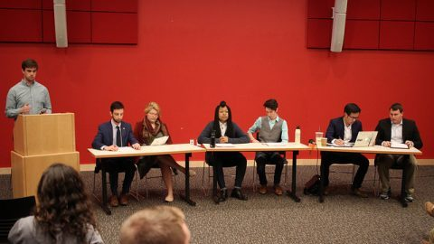 Candidates for SGA tickets debate Sunday