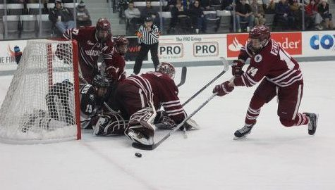UMass hockey eliminated from Hockey East tournament in loss to Providence College