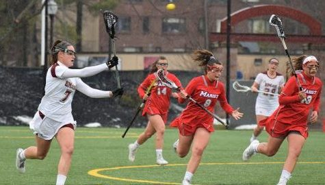 Strong second half lifts UMass women's lacrosse past Marist, 10-7