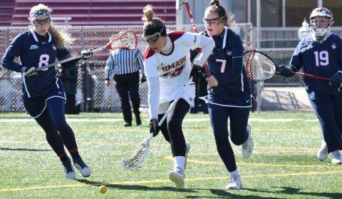 Hannah Burnett paces UMass women's lacrosse in win over UNH