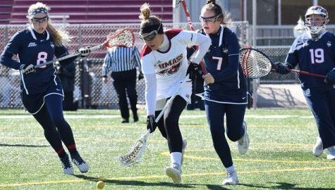 UMass women's lacrosse overcomes momentum changes to notch first overtime win