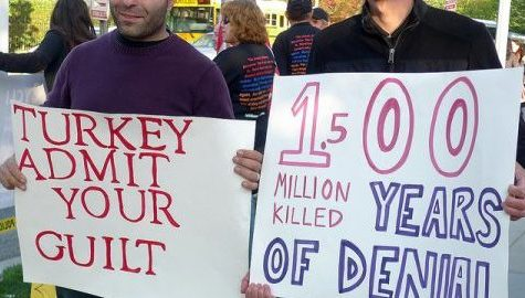 Events in Turkey today echo patterns of Armenian genocide