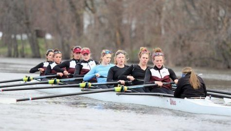 UMass rowing wins varsity pair, varsity single in Knecht Cup
