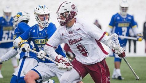 UMass men's lacrosse to clinch CAA tournament berth with win over No. 10 Hofstra