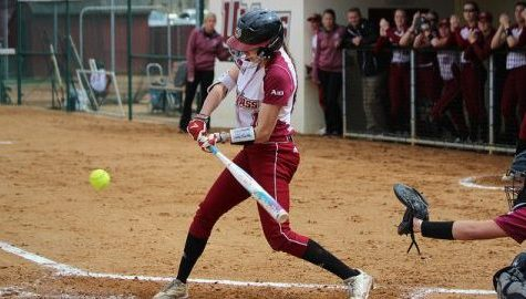 UMass bats go quiet in game one as softball splits doubleheader