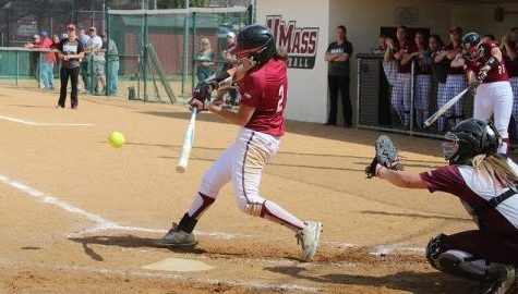 UMass softball squeaks past Boston College 2-1 Wednesday afternoon