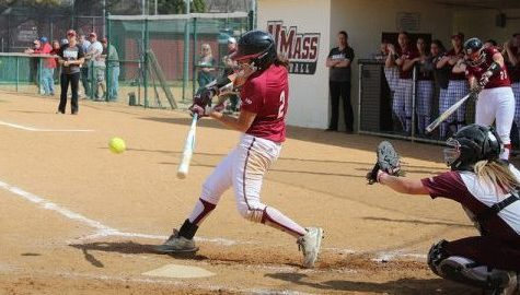 Offensive explosion helps UMass softball split doubleheader, win weekend series with Fordham