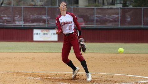 UMass softball splits midweek doubleheader with Fairleigh Dickinson