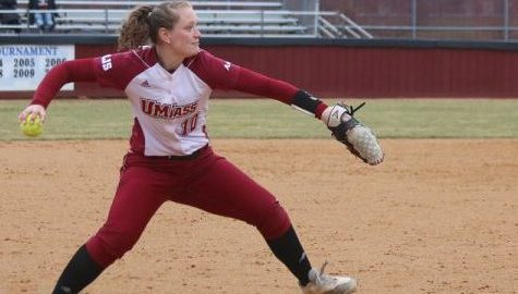 UMass softball sweeps Rhode Island in mid-week doubleheader on the road Wednesday