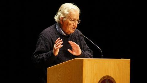 Noam Chomsky to speak at UMass Thursday