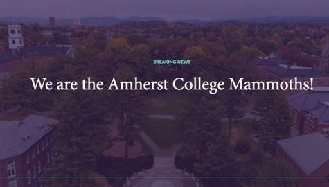Amherst College changes mascot, will now wield tusks