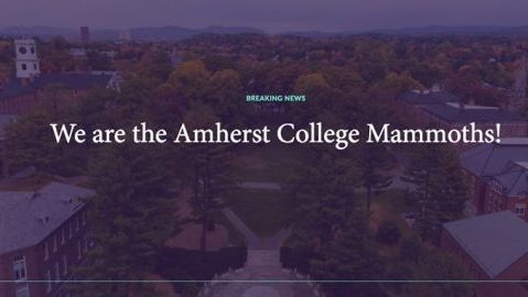 Courtesy of Amherst Colleges Facebook