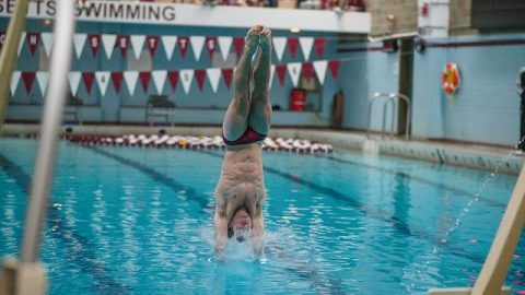 Team-first approach serves as a point of emphasis for UMass diving