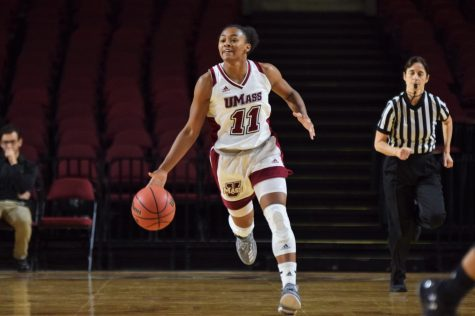 Minutewomen setting career-highs with first victory