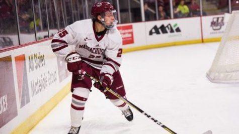 UMass hockey falls flat in 5-0 loss to Northeastern